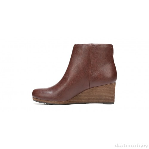 500x500 Dr. Scholl's Dwell Wedge Bootie Copper Brown Tumbled Clean