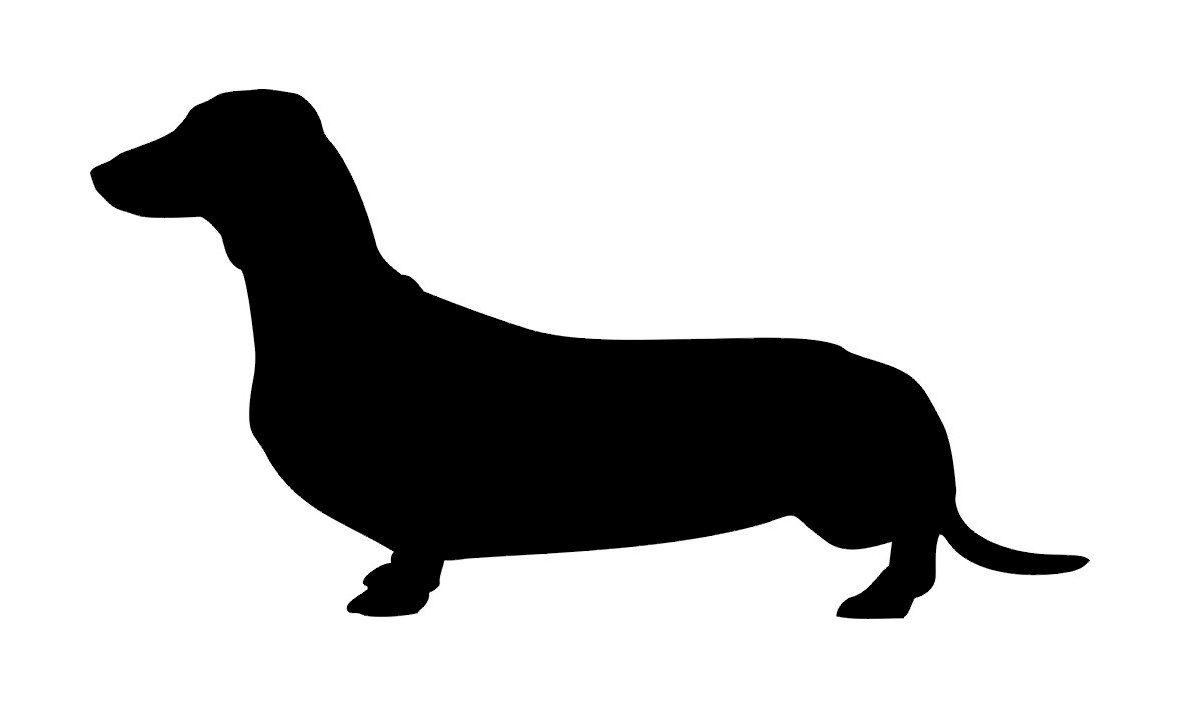 1181x709 Dachshund Silhouette Dog Buy 2 Get 1 Free Vinyl By Ellystudio