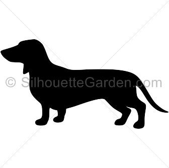336x334 Dachshund Silhouette Clip Art. Download Free Versions Of The Image