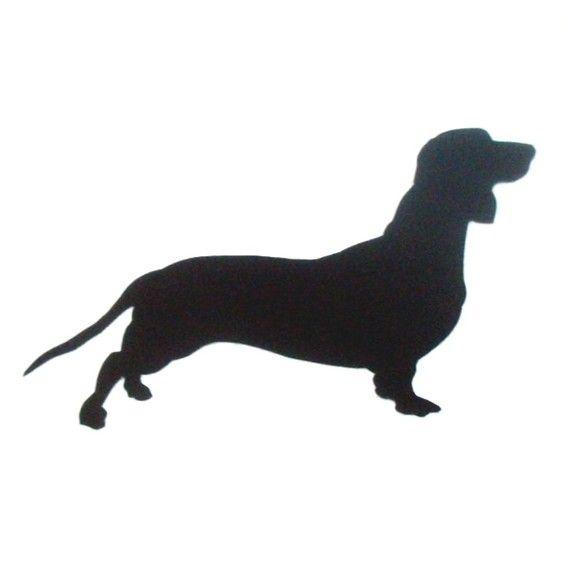 570x565 Dog Silhouette