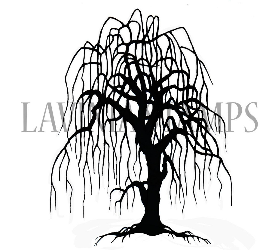 1024x962 Weeping Willow Tree Lavinia Stamps Ltd
