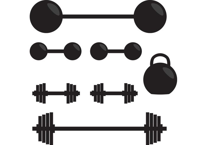 700x490 Weightlifting Silhouette Clipart Collection