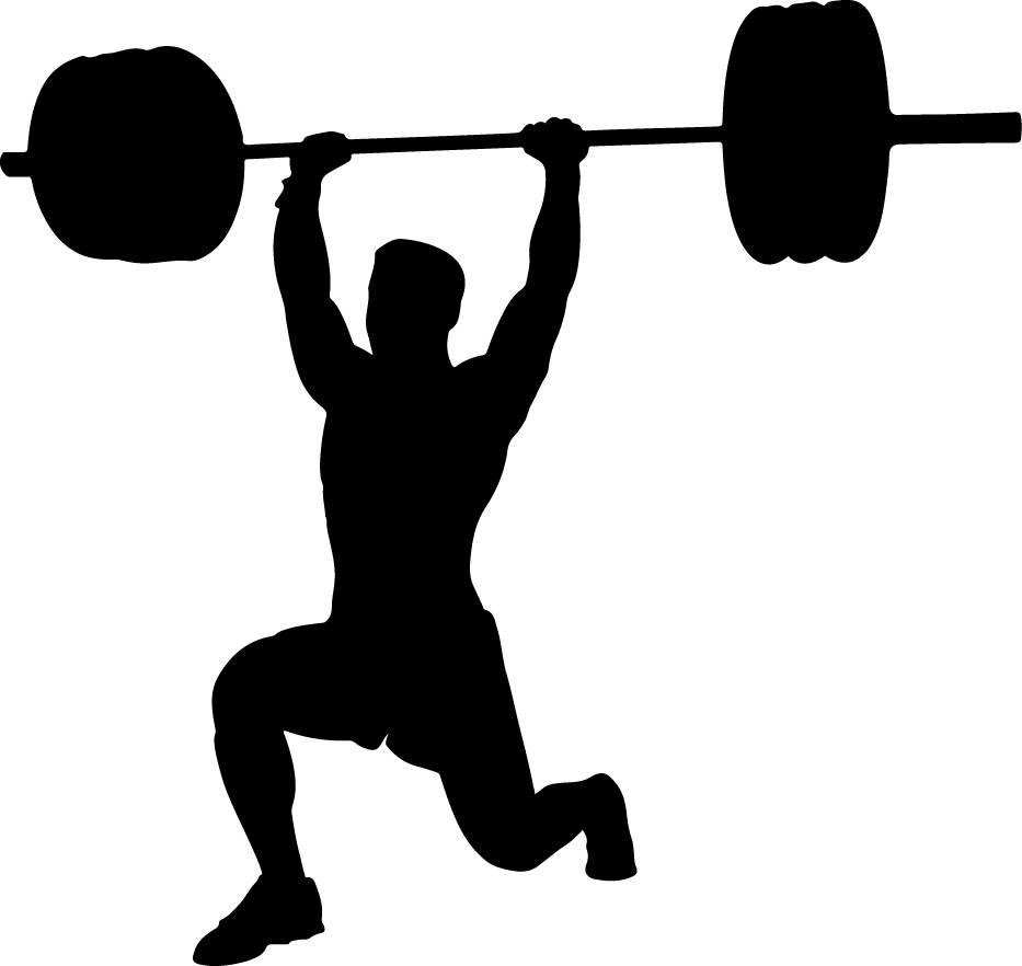 933x882 Weightlifting Svg