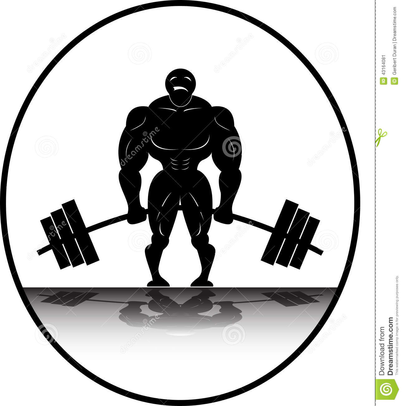 1293x1300 Powerlifting Clipart