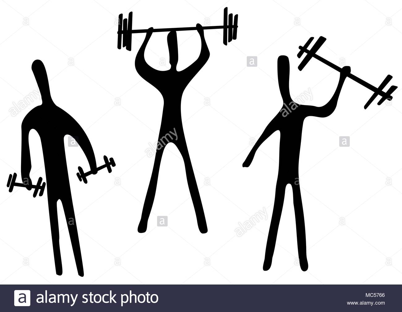1300x1010 Weight Lifting Vector Vectors Stock Photos Amp Weight Lifting Vector