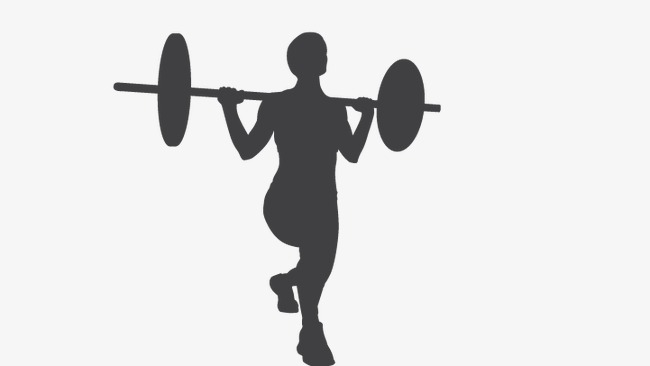 650x366 Weightlifting, Weightlifting People, Fitness Silhouettes Png