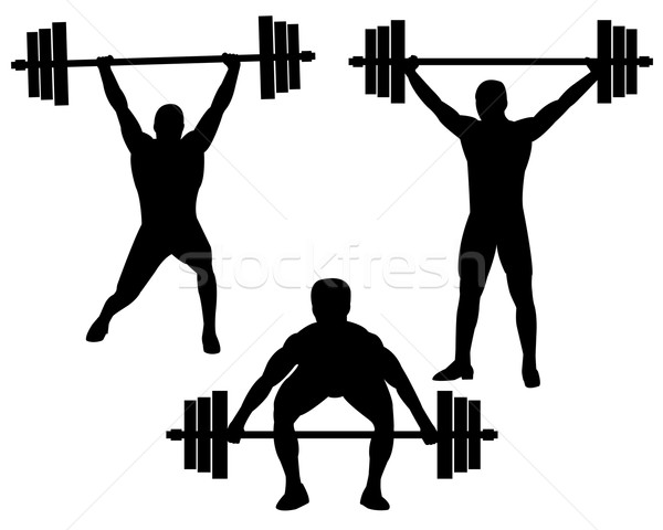 600x480 Weightlifting Stock Vectors, Illustrations And Cliparts Stockfresh