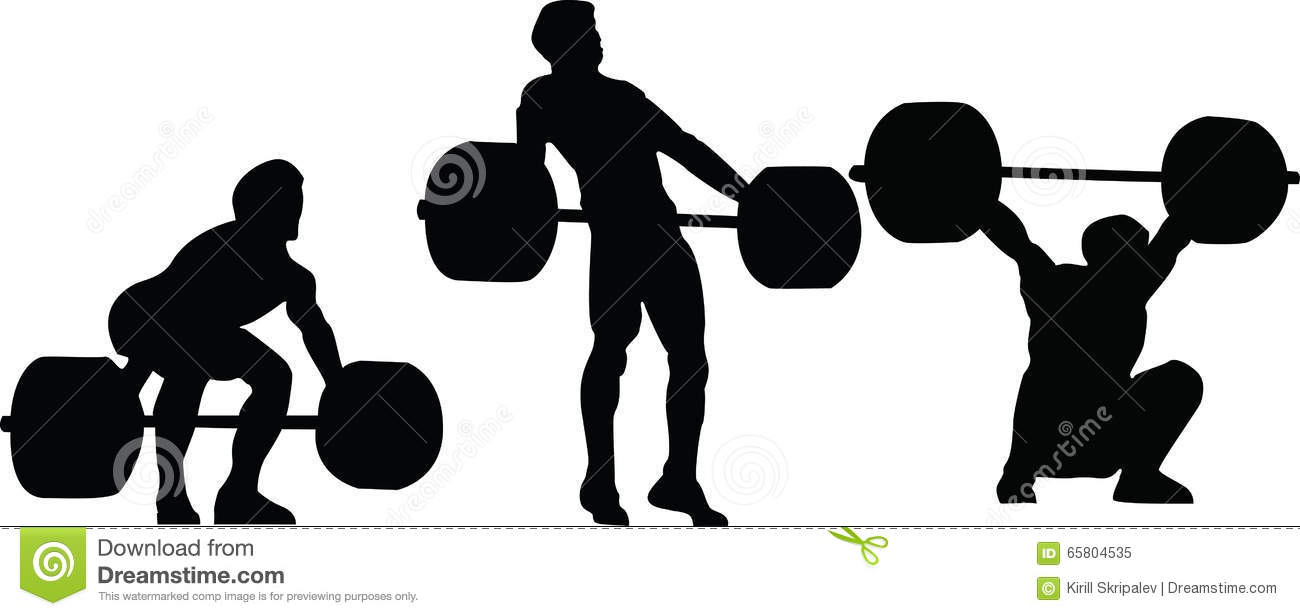 1300x616 Olympic Weight Lifting Clipart