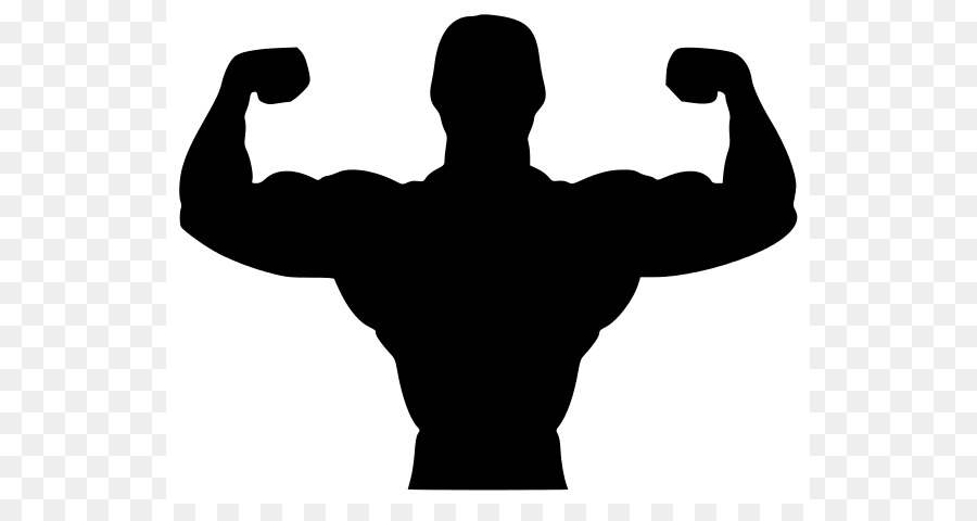 Weight Lifting Silhouette at GetDrawings