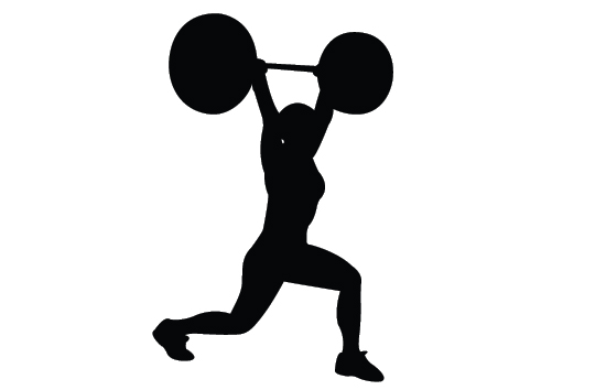 weight lifting silhouette clip art at getdrawings com free for rh getdrawings com weightlifting images clip art weightlifter clipart pictures