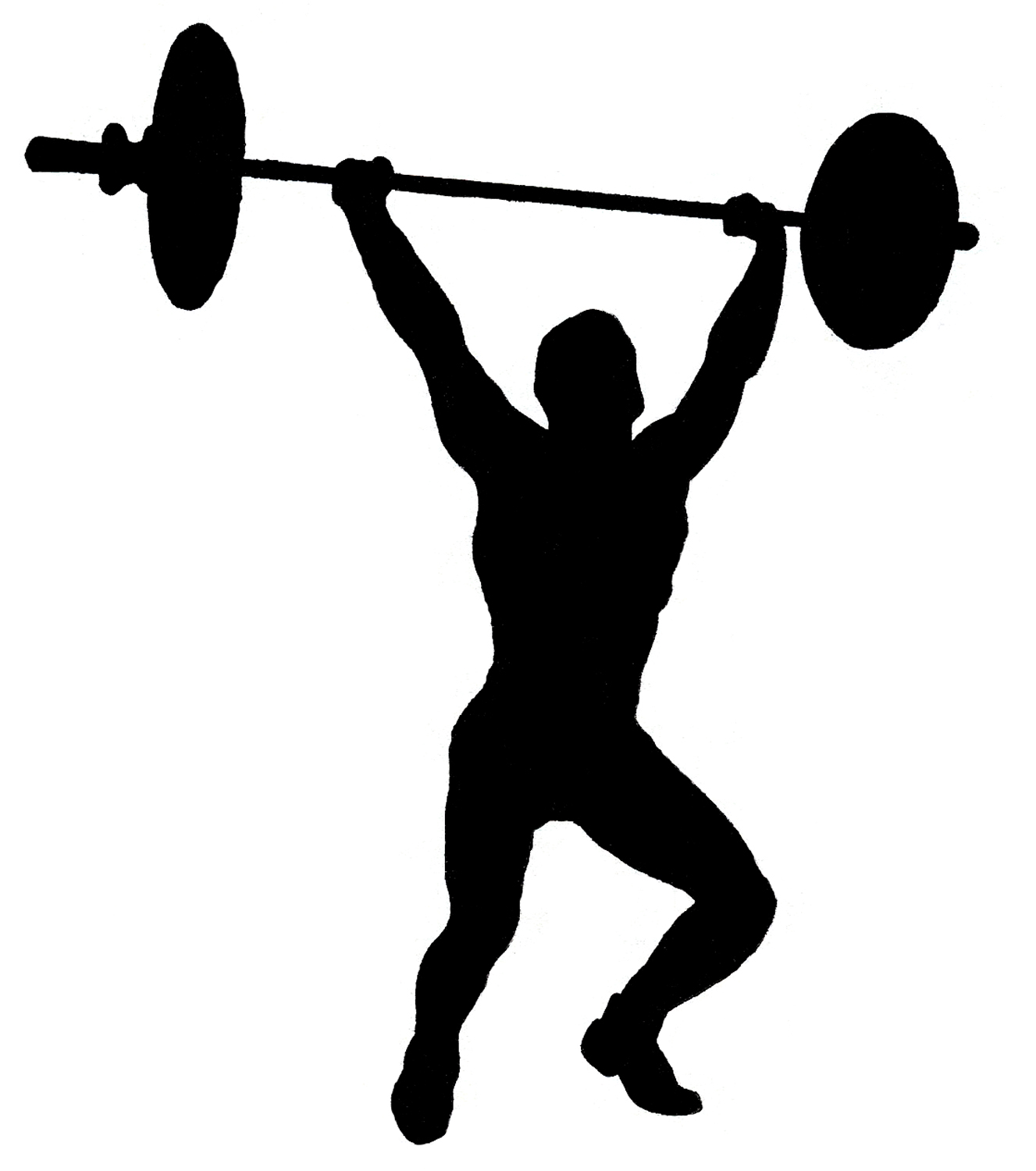weight lifting silhouette clip art at getdrawings com free for rh getdrawings com