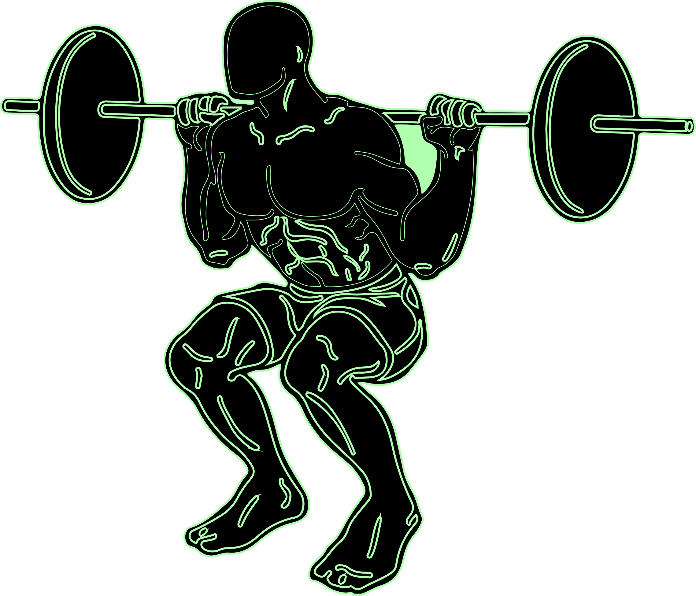 weight lifting silhouette clip art at getdrawings com free for rh getdrawings com powerlifting clipart free