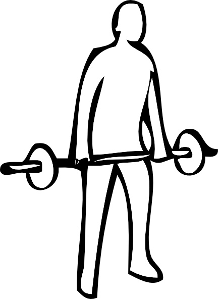 432x592 Weight Lifting Clip Art Free Vector In Open Office Drawing Svg
