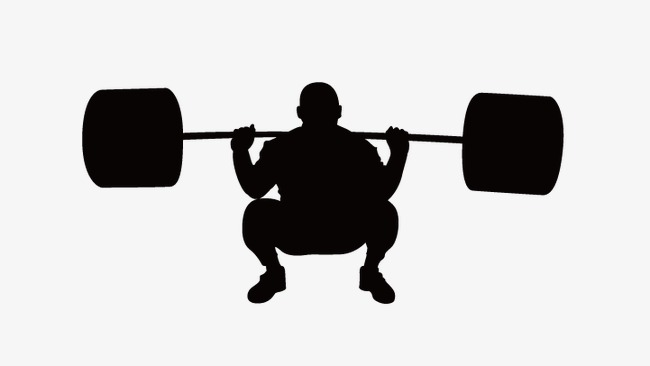 650x366 Weightlifting People, Vector Silhouette Figures, Weightlifting Png