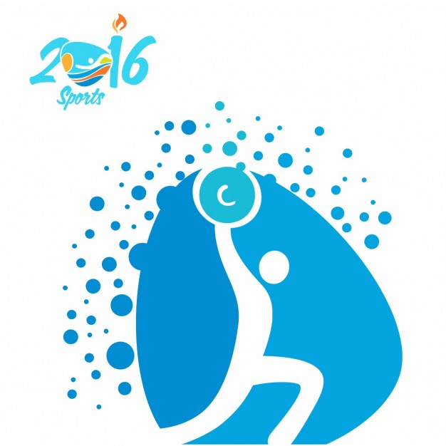626x626 Weightlifting Olympics Icon Vector Free Download