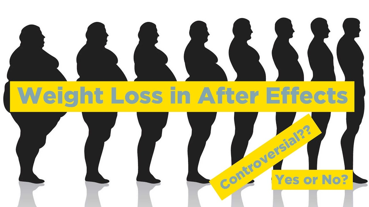 1280x720 Weight Loss In After Effects