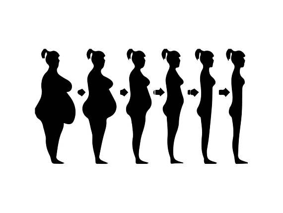570x429 Weight Loss Female Struggle Life Style Healthy Muscles Weight Svg
