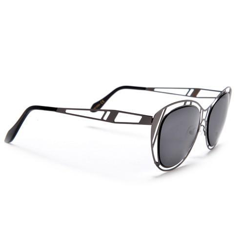 500x500 Thin Light Weight Metal Cut Out Cat Eye Silhouette Sunnies