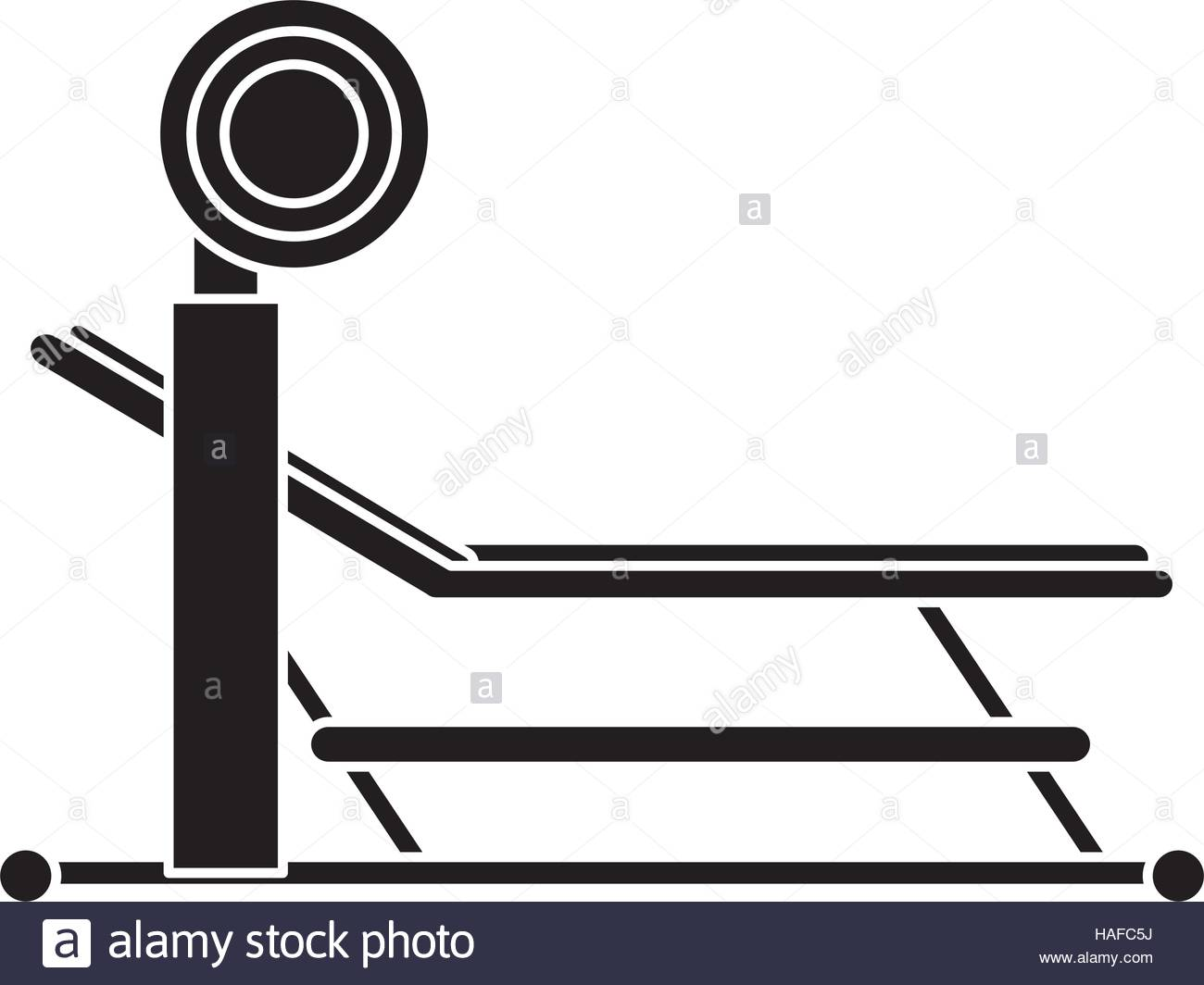 1300x1064 Silhouette Brench Press With Weight Barbell Sport Stock Vector Art