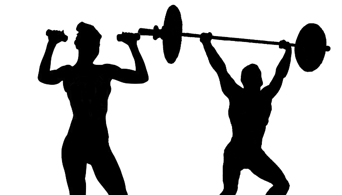 700x400 Exercise Silhouette Clipart
