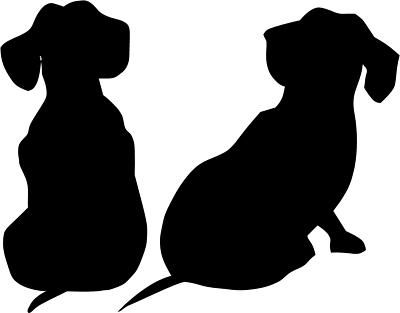 400x313 Joking Hazard Dachshunds, Silhouettes And Babies
