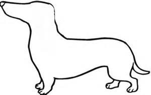 300x190 Dog Drawing Dachshund Outline Wiener Dog Silhouette Cute Weiner