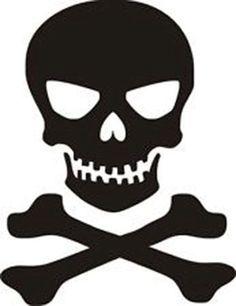 236x306 Skull And Cross Bones
