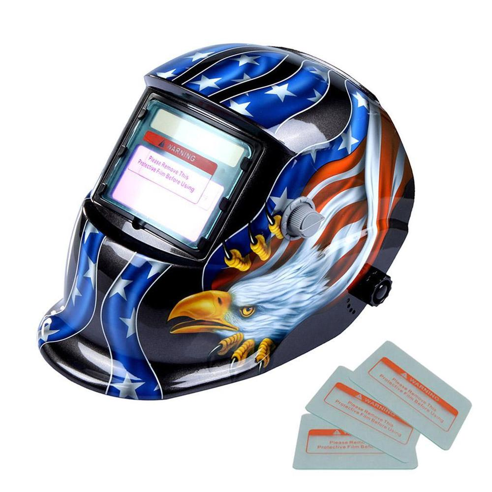 1000x1000 Welding Helmet Automatic Welding Mask Mig Tig Arc Mask W Lens
