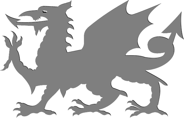 640x412 Image Result For Welsh Dragon Silhouette Travedin