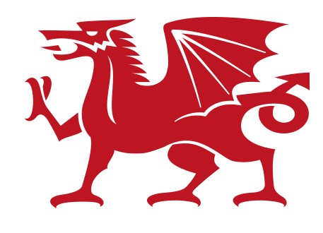 457x330 Simple Welsh Dragon Logo Free Vector