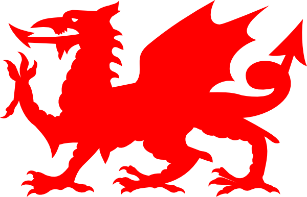 welsh dragon silhouette at getdrawings com free for personal use rh getdrawings com Whale Tail Clip Art Ocean Animals Clip Art