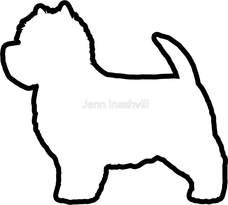 west highland terrier silhouette at getdrawings com free for rh getdrawings com