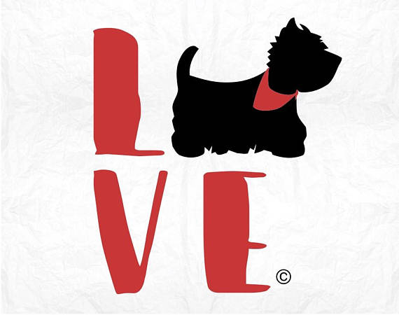 570x450 Westie Svg Dog Svg Westie Silhouette Svg West Highland