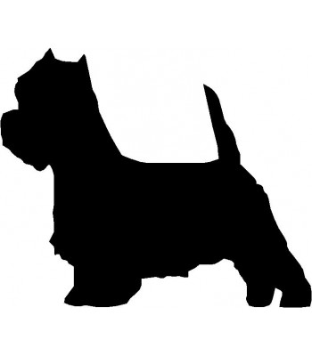 350x400 Dog Personalized House Sign Breed West Highland Terrier