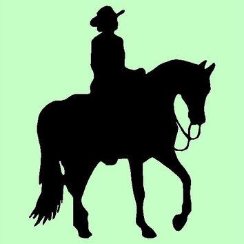 354x354 Horse Riding Clipart Western Pleasure