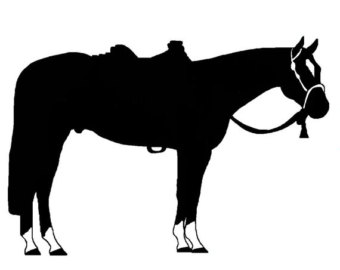 western horse silhouette at getdrawings com free for personal use rh getdrawings com western pleasure horse clip art free