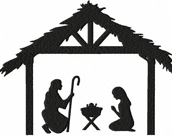 340x270 Nativity Manger Etsy