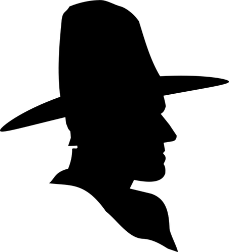 Western Silhouette Clip Art