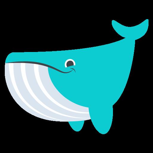 512x512 Whale Emoji Vector Icon Free Download Vector Logos Art Graphics