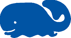 250x133 Water, Blue, Silhouette, Cartoon, Whale, Tail, Smile