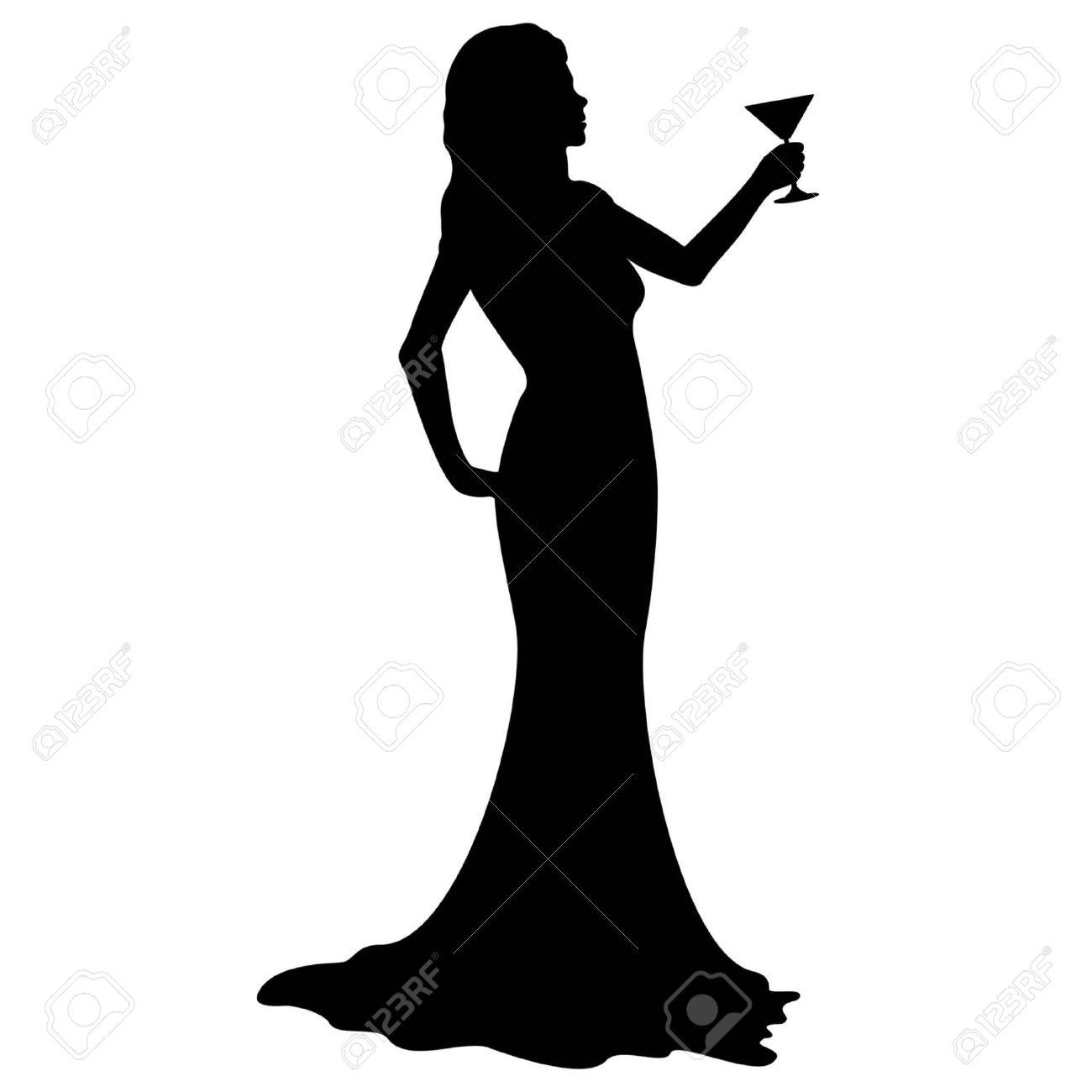 1300x1300 Dress Clipart Evening Dress