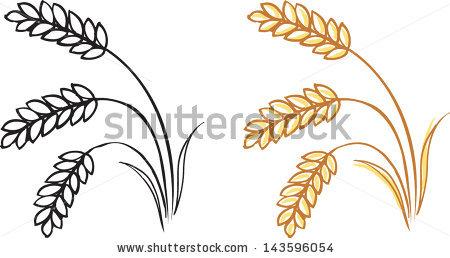 450x258 Barley Clipart Silhouette