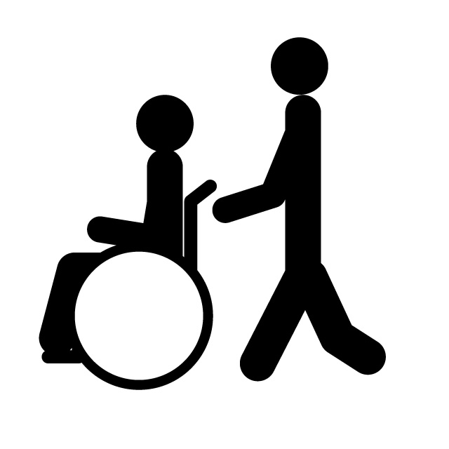 640x640 Nursing Care Wheelchair Nursing Home Free Icon Mark
