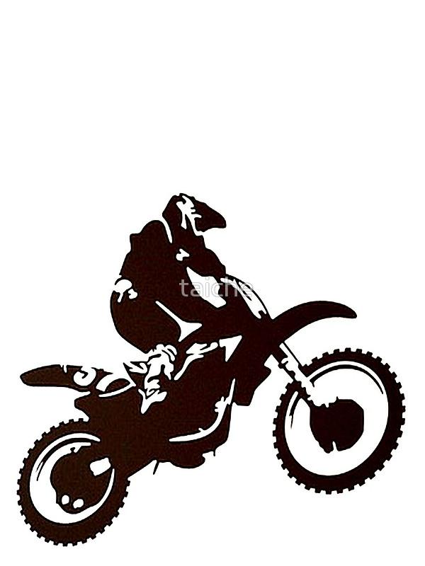 600x800 Motocross Silhouette Whip