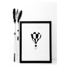 236x236 Whisk And Rolling Pin Silhouette Framed Kitchen Art Home Decor