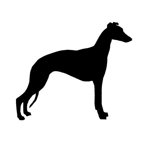 550x550 Whippet Silhouette Whippet Whippets