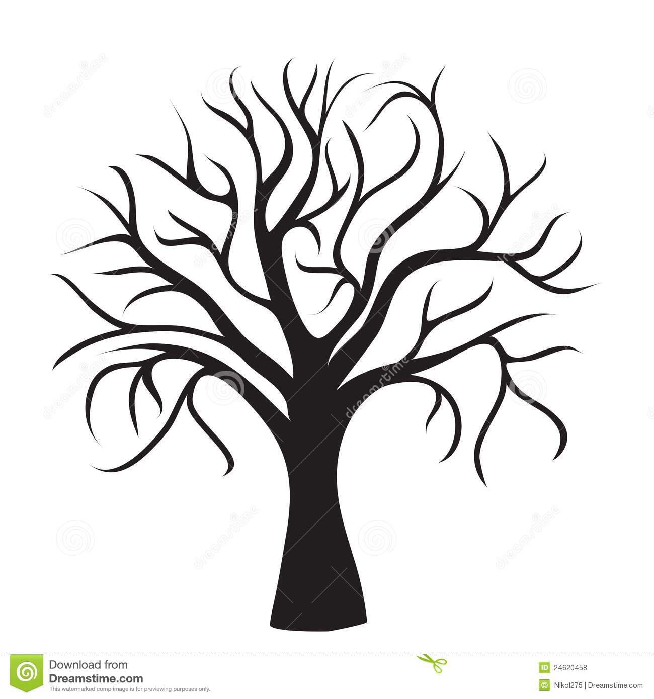 1300x1390 Tree No Branches Draw Designs Cricut, Silhouettes