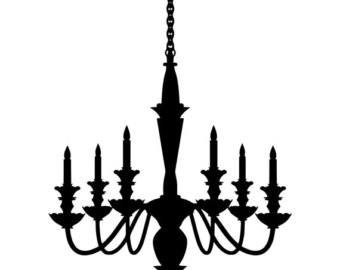 340x270 Chandelier Sticker Etsy