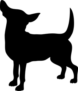 258x300 Dog Silhouette Black And White Clipart