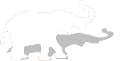 426x217 White Elephant Png File Png Mart